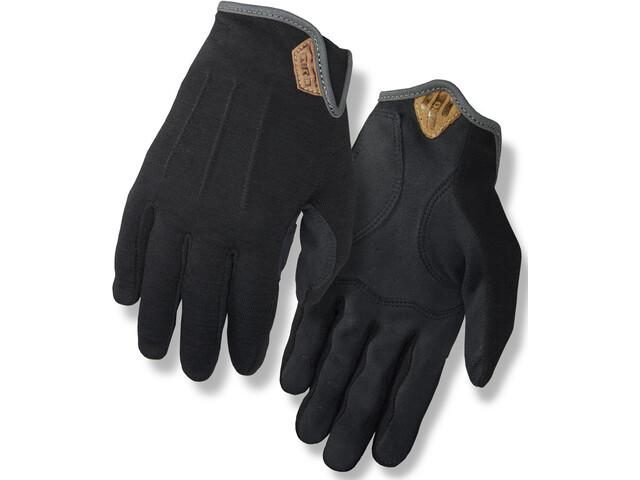 Giro D'Wool Rękawiczki Mężczyźni, czarny